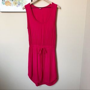 Splendid Drawstring Waist Tank Dress Size M